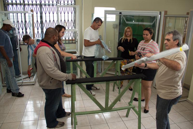 Curso – Especificação, comercialização e instalação de vidros temperados